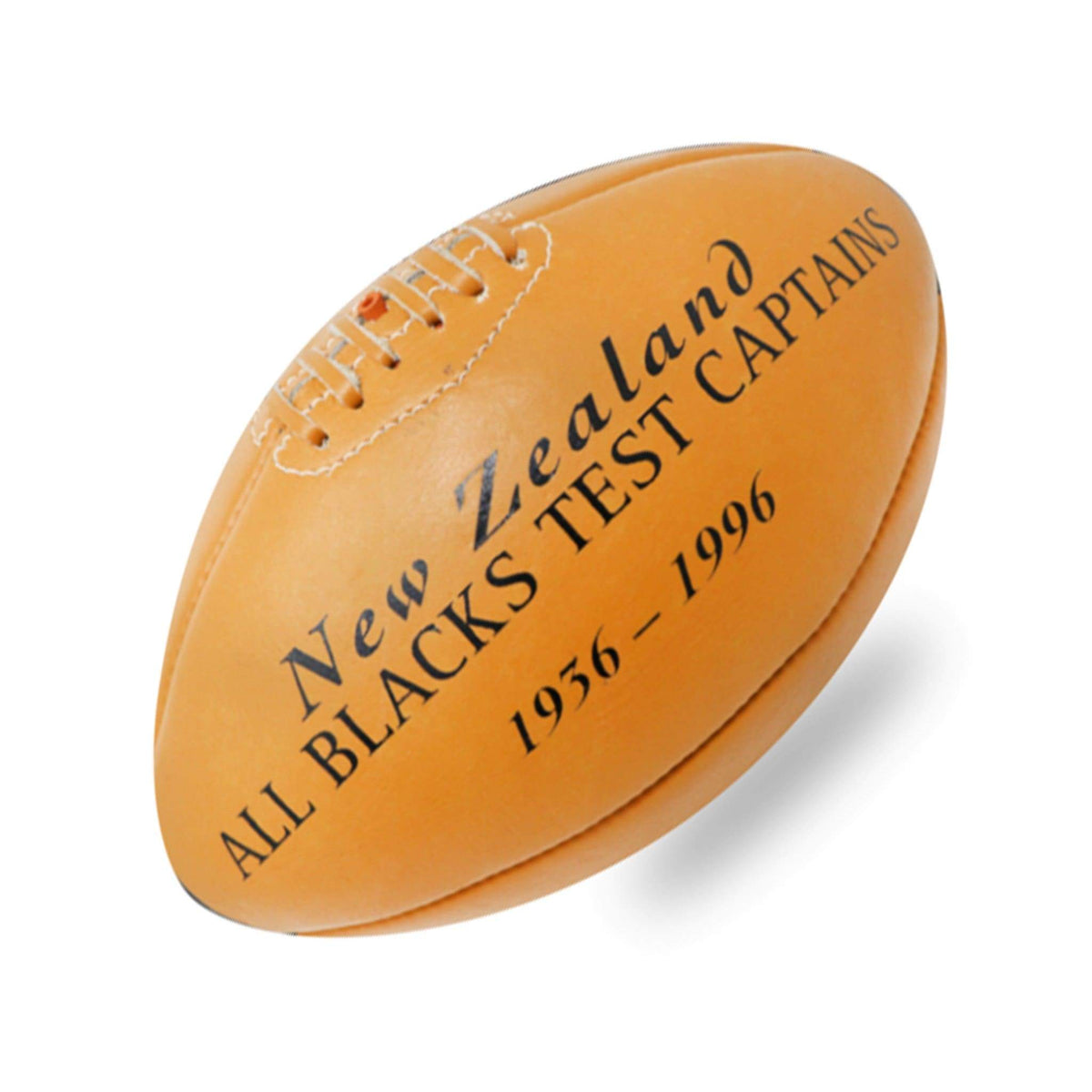 Vintage All Blacks Rugby Ball Signed By Legendary Test Captains Vintagesports Com