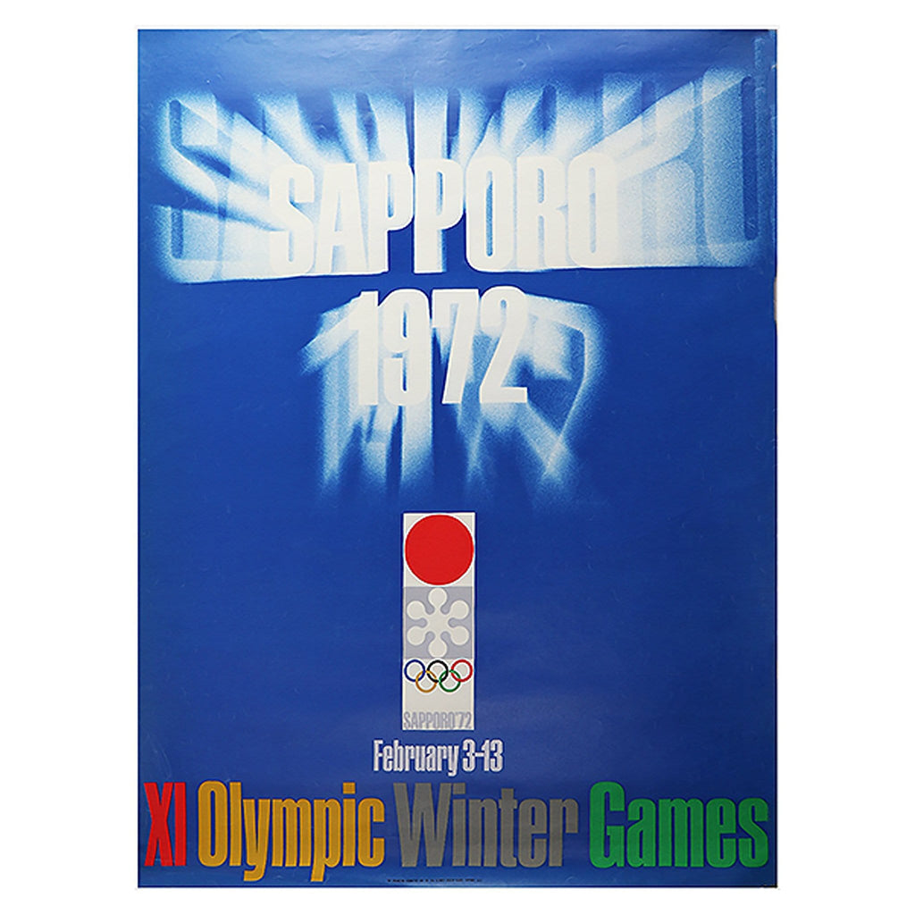 1972 Japan Olympics Poster