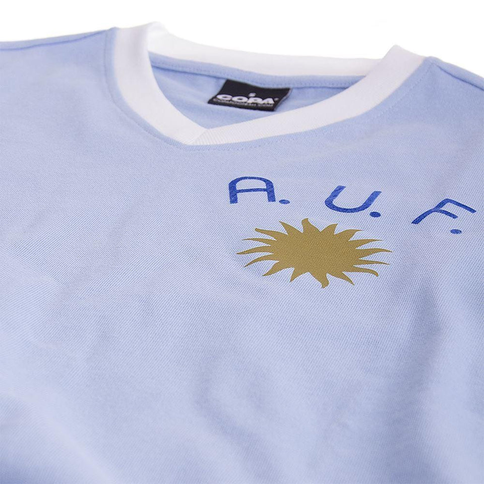 Uruguay 1970's Throwback Soccer Jersey