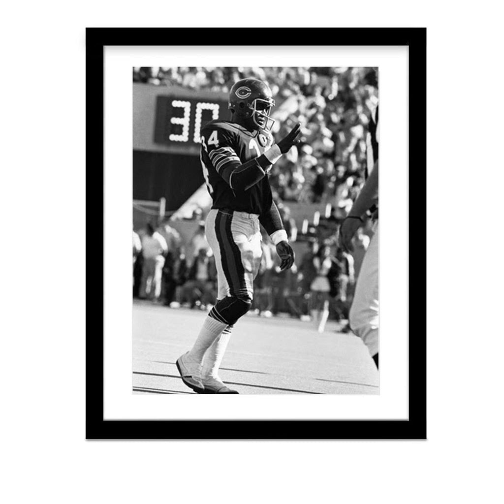 Walter Payton Vintage Football Framed Photograph