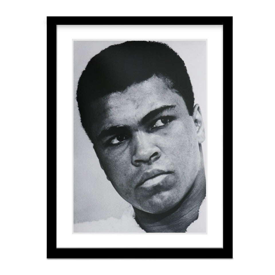 Muhammad Ali - Unstoppable Heavyweight Champion Framed Photo