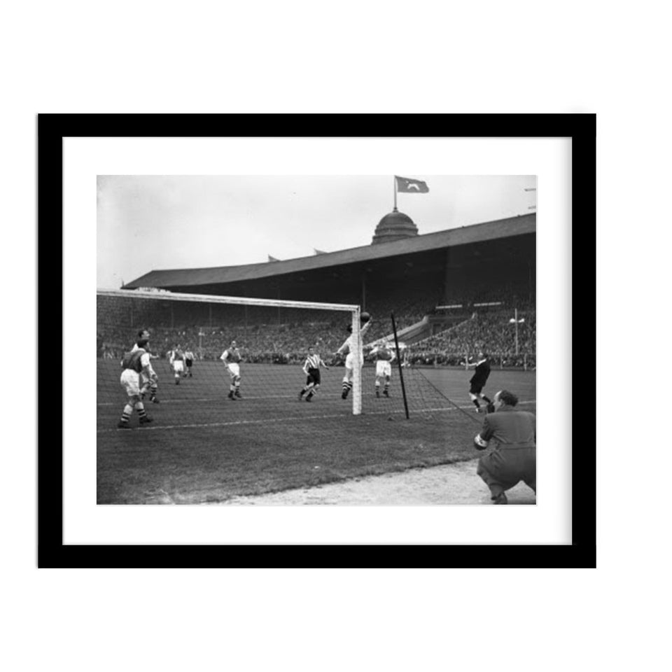 Arsenal FA Cup Vintage Photo Framed