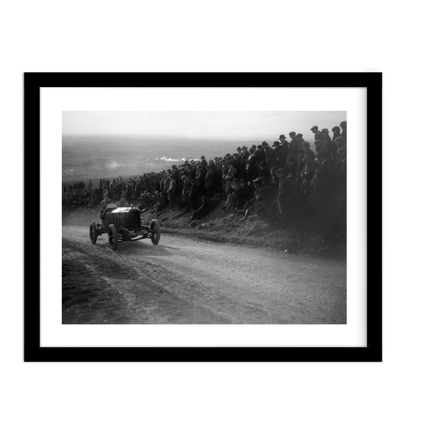 1922 Essex Car Racing Countryside Vintage Photo Framed