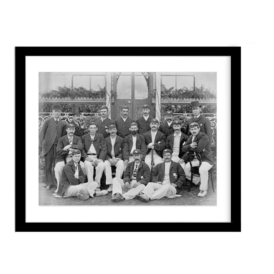 Australian Cricket Vintage Team Photo