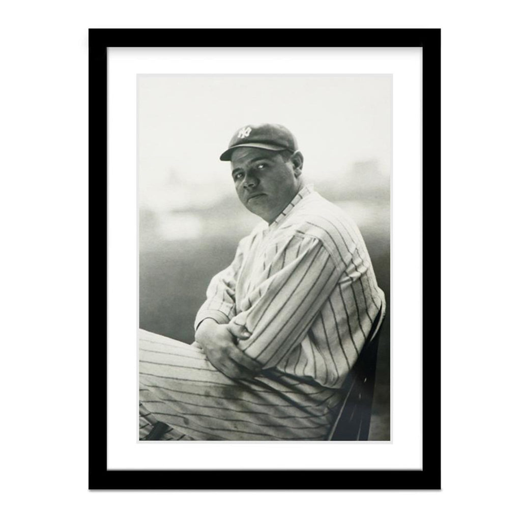 Babe Ruth Vanity Fair Vintage Baseball Photo