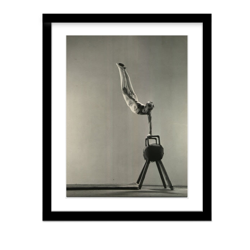 Danish Gymnast Framed Photo