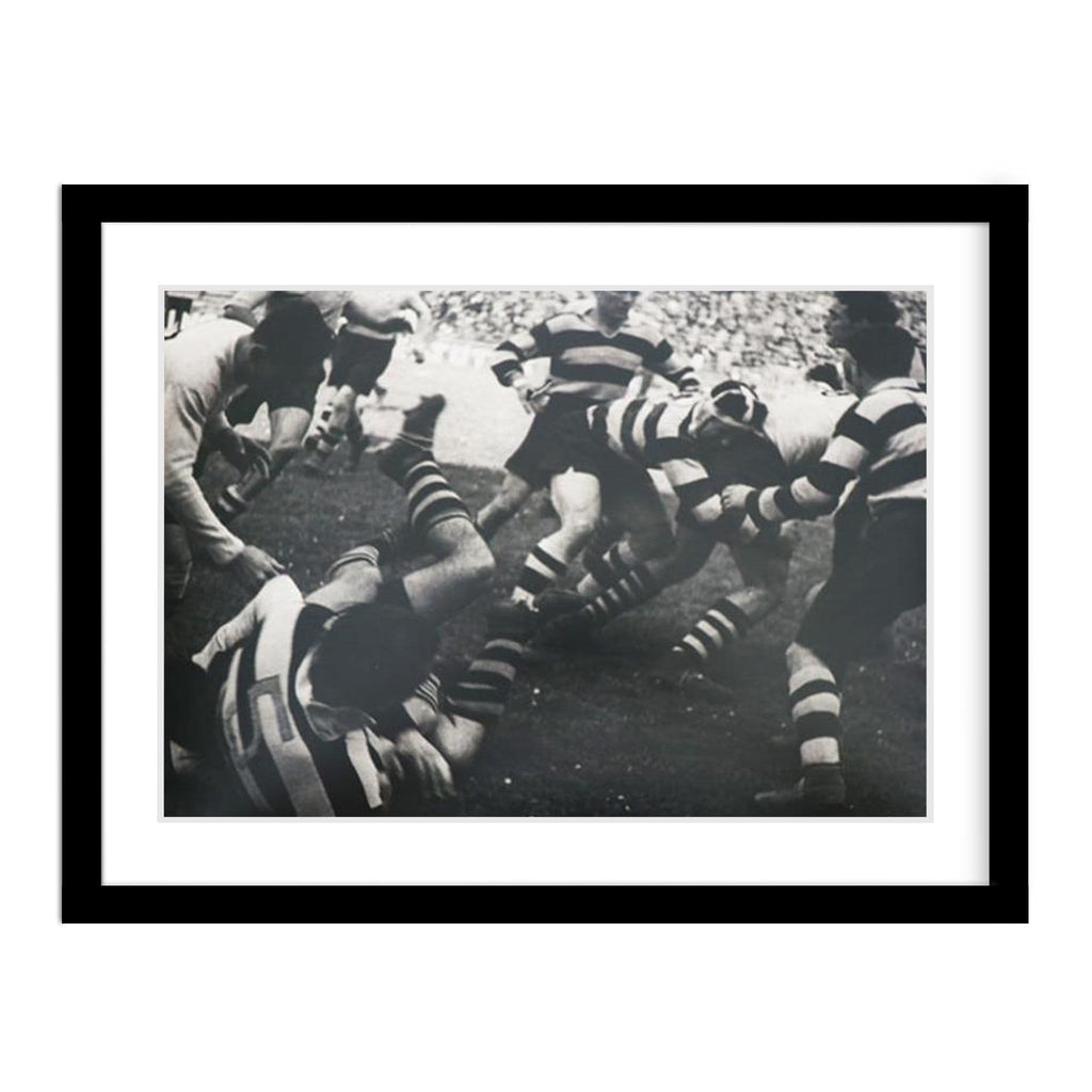Vintage Rugby Legendary Prints Framed