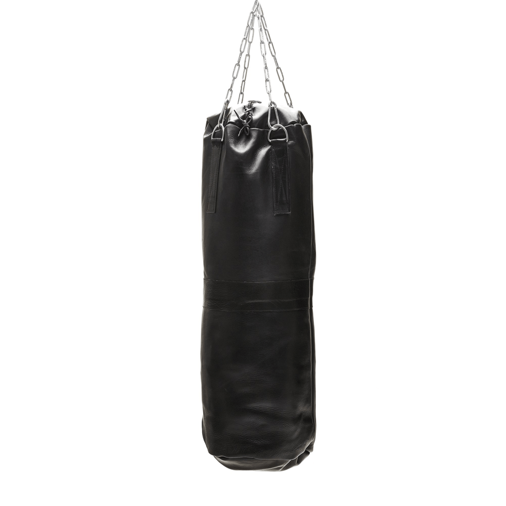 Heavy Black Leather Training Bag