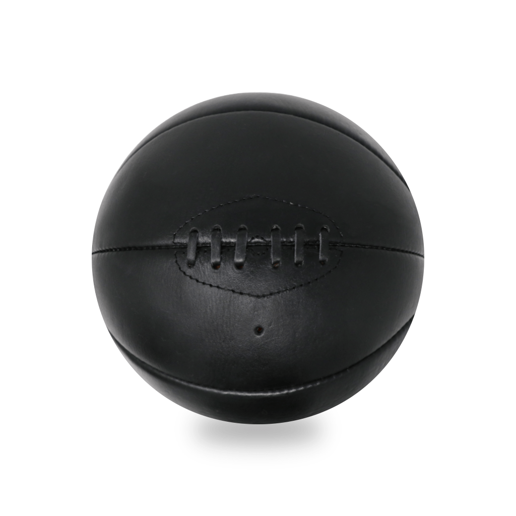 Black Vintage Leather Basketball