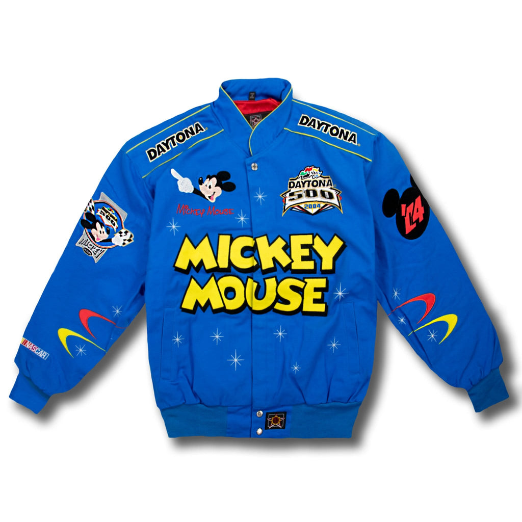 Vintage NASCAR Daytona 500 2004 Mickey Mouse Jacket - New