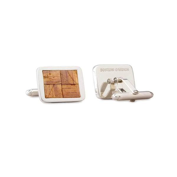 Boston Garden Parquet Historic Floor Cuff Links