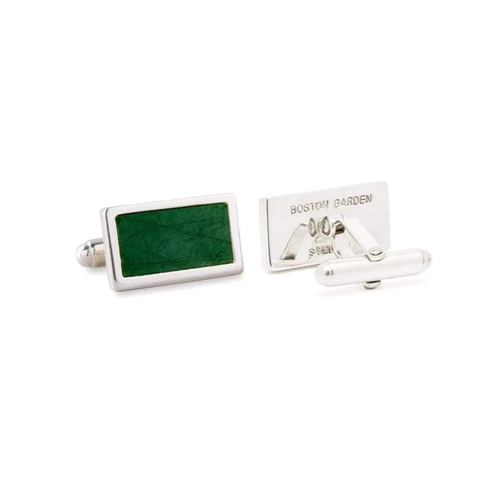 Boston Garden Green Floor Cuff Links