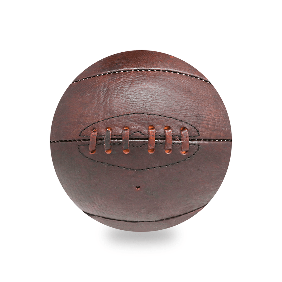Brown Basketball Vintage Leather