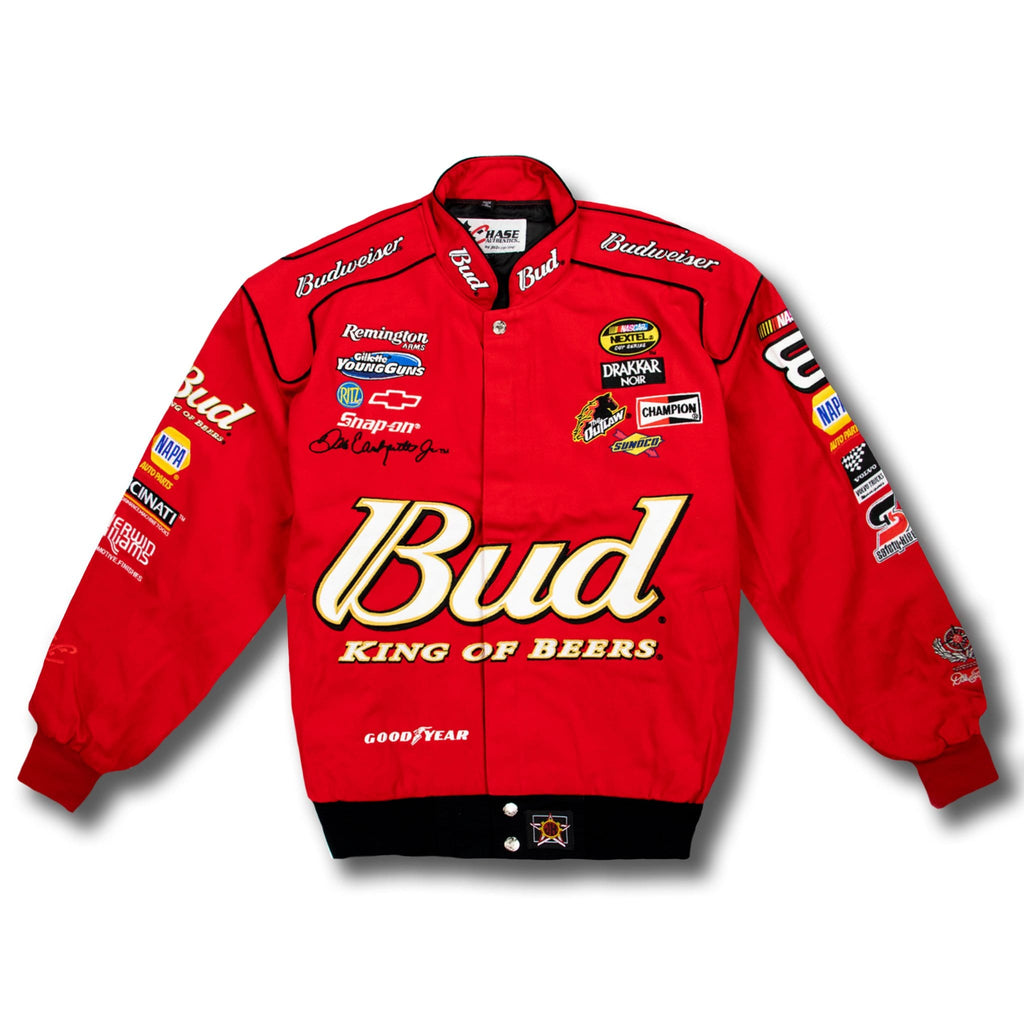 Vintage Dale Earnhardt Jr 8 Nascar Budweiser Racing Jacket New