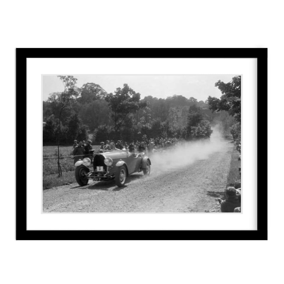 Bugatti Type 49 Framed Vintage Photograph