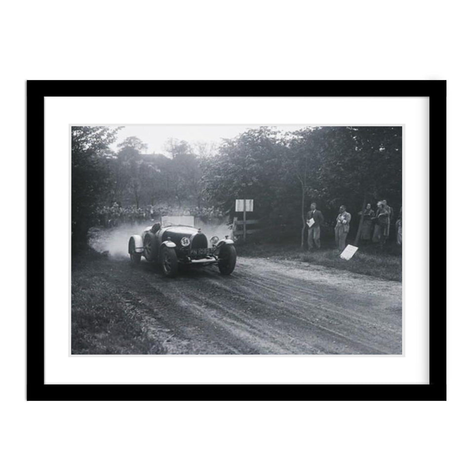 Bugatti Type 43 Classic Car Vintage Photo Framed