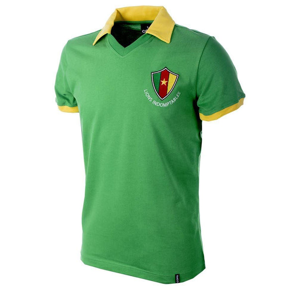 Vintage World Cup Cameroon soccer shirt