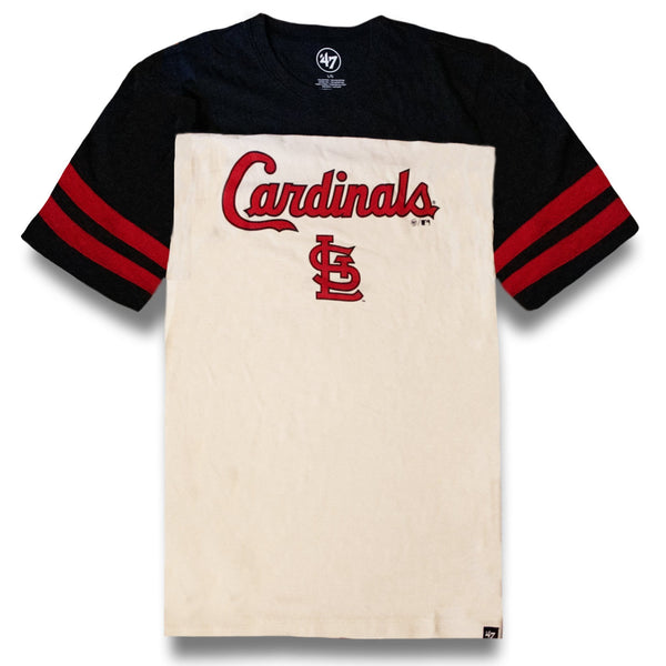 Vintage St Louis Cardinals T Shirt Tricolored