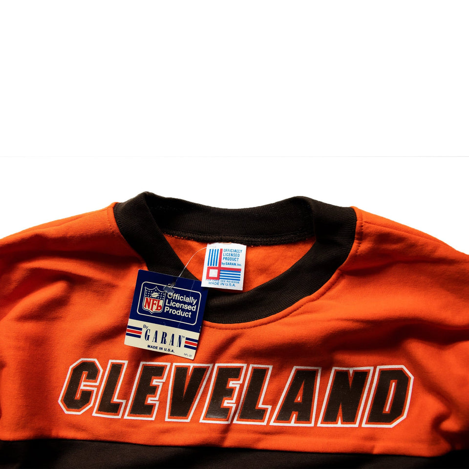 Vintage Cleveland Browns NFL Sweatshirt Official Sweater