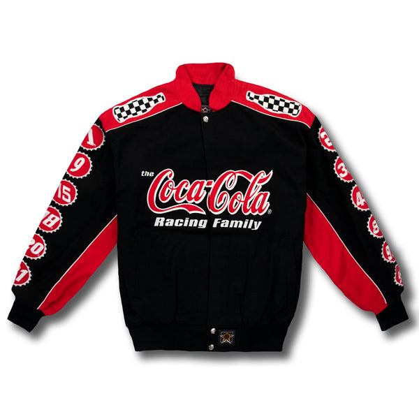 Vintage NASCAR Coca Cola Button-up Race Jacket - New