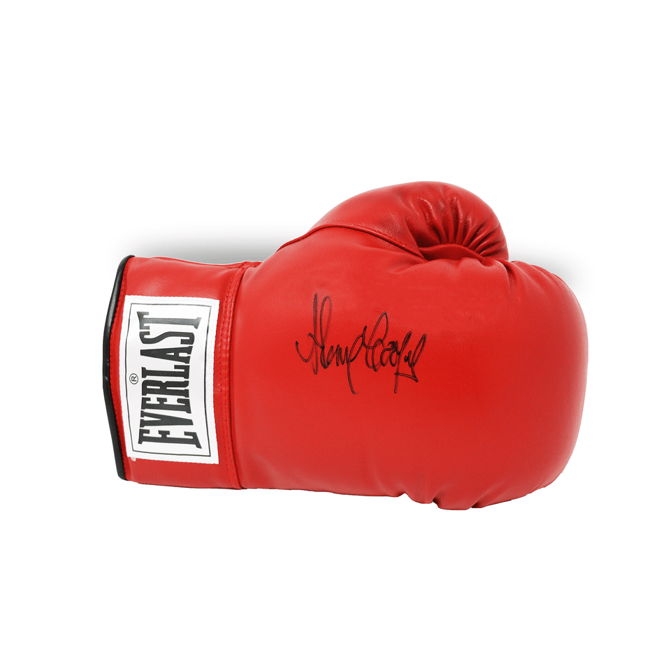 Henry Cooper Everlast Signed Boxing Glove