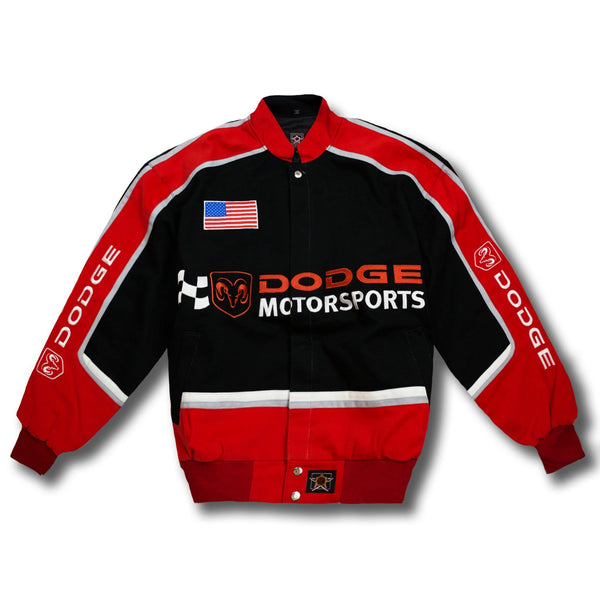 Vintage NASCAR Dodge Logo Racing Jacket