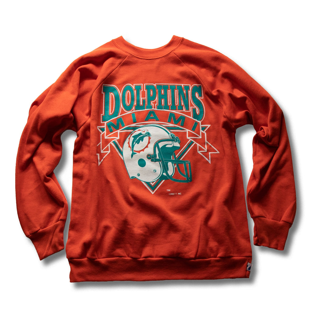 Vintage Miami Dolphins Logo7 Pullover Sweater