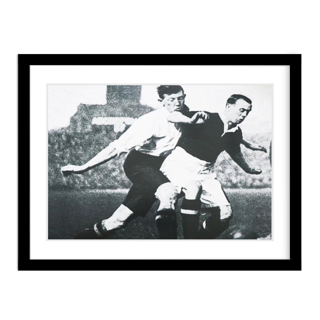 England & Scotland 1926 Vintage Soccer Match Photo