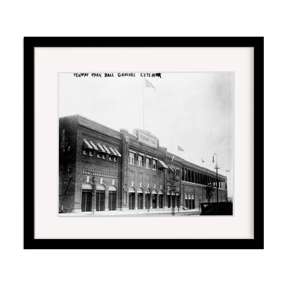 Classic Fenway Park Framed Photo