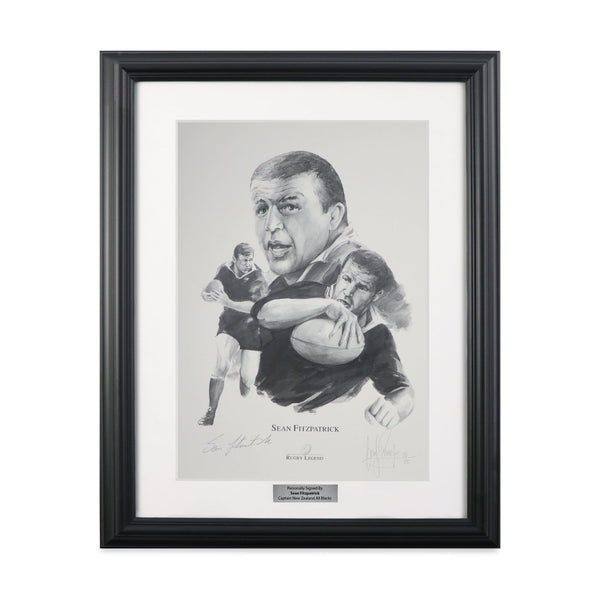 Sean FitzPatrick Classic Rugby Signed Prints