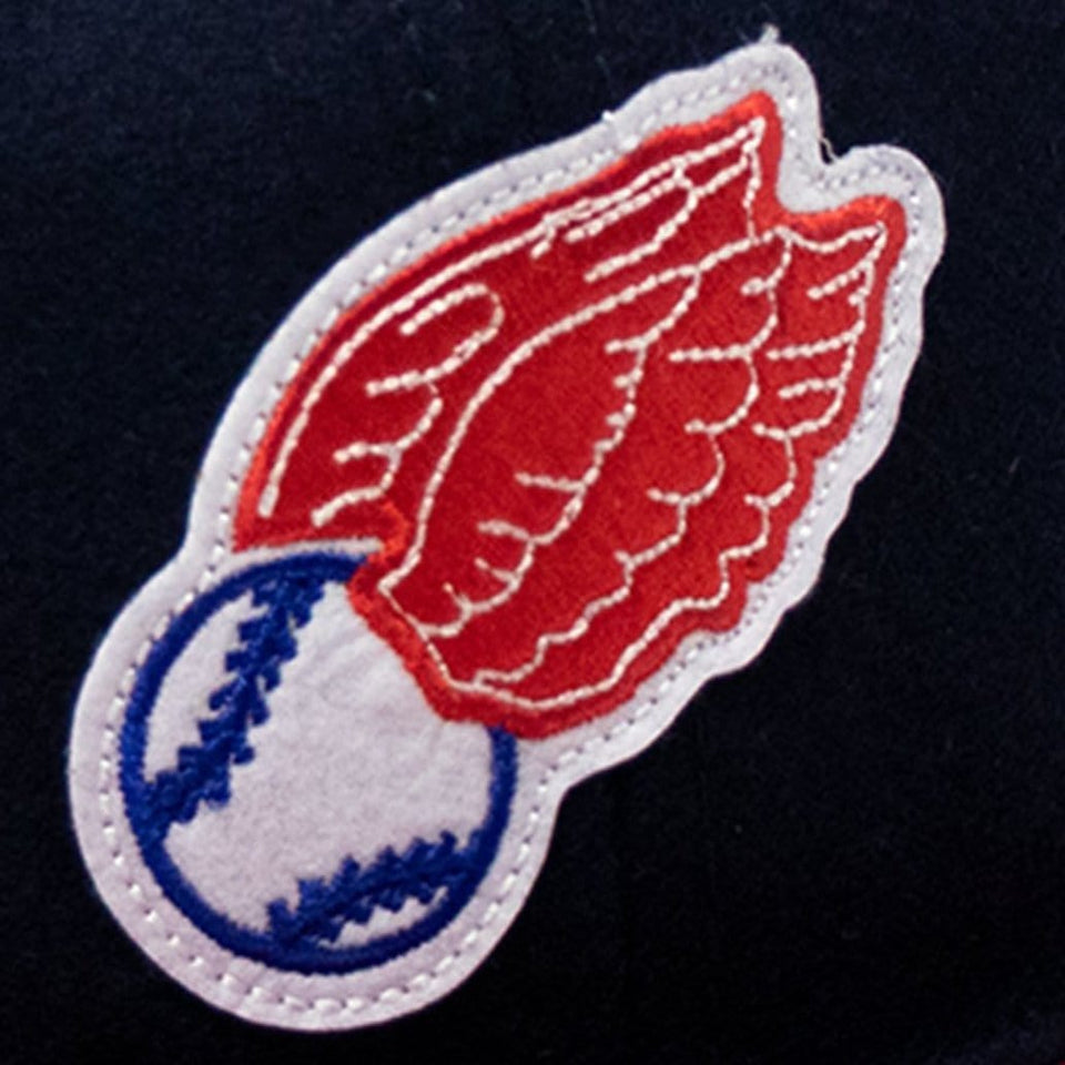 Vintage Rochester Red Wings 1950 Baseball Cap Detail