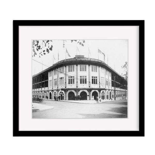 Forbes Field Vintage Baseball Stadium Photo