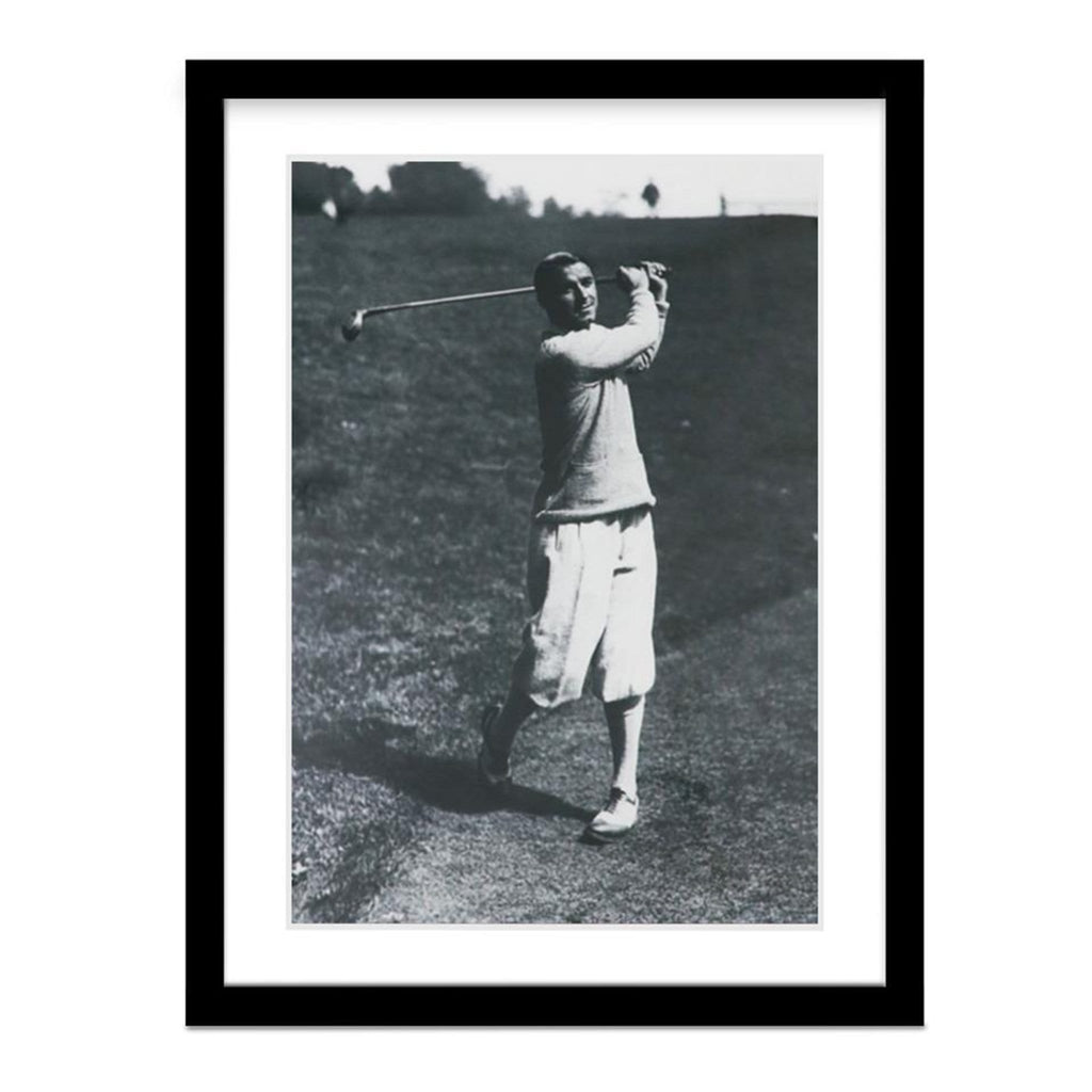 Gene Sarazen Golf Framed Vintage Photo