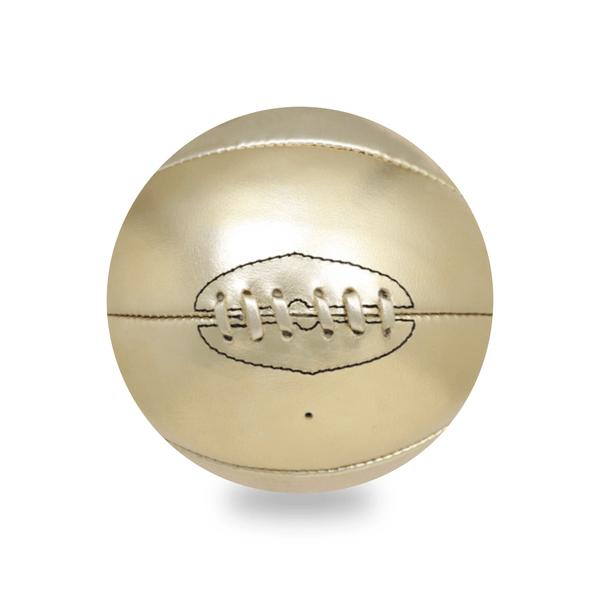 Gold Vintage Leather Basketball