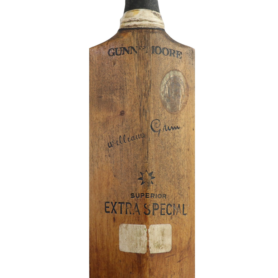 Vintage Cricket Bat Gunn and Moore Circa 1920