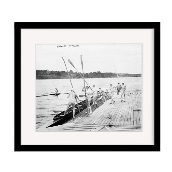Harvard University Crew Team Vintage Rowing Print