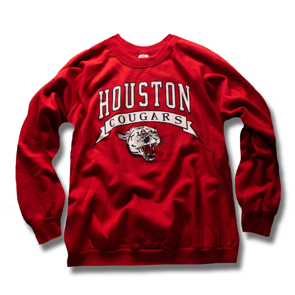 Vintage Houston Cougars Pullover 1980-1990's