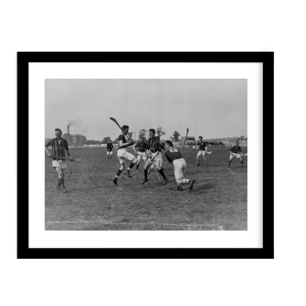 Hurling Match Framed Photo