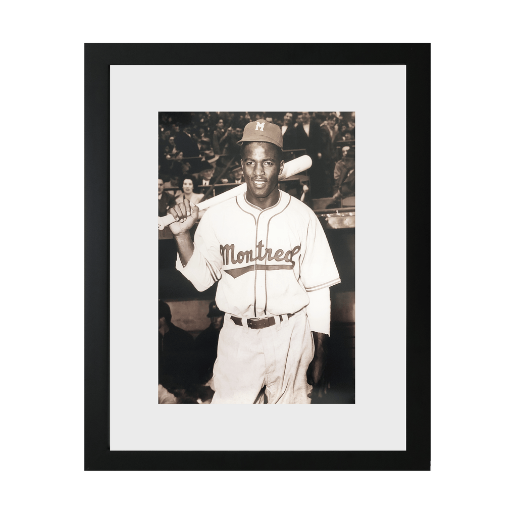 Jackie Robinson During Spring Training Framed Photo