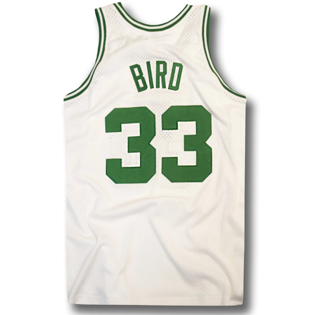 new style f4274 c99b8 Larry Bird Boston Celtics Hardwood Classics Home Jersey