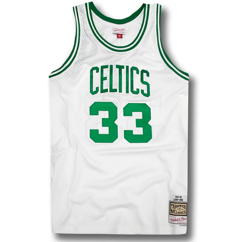 new style e047d d8f1e Larry Bird Boston Celtics Hardwood Classics Home Jersey