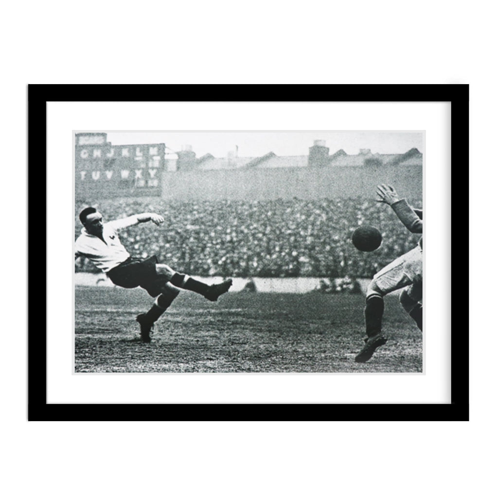 Tottenham Hotspur & West Bromwich Albion 1931 Match Framed Photo