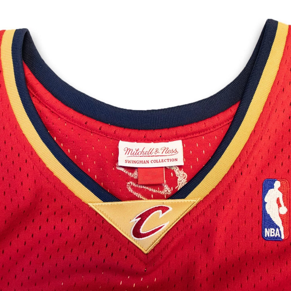 on sale be5cb 503ae LeBron James Cleveland Cavaliers Hardwood Classics Jersey