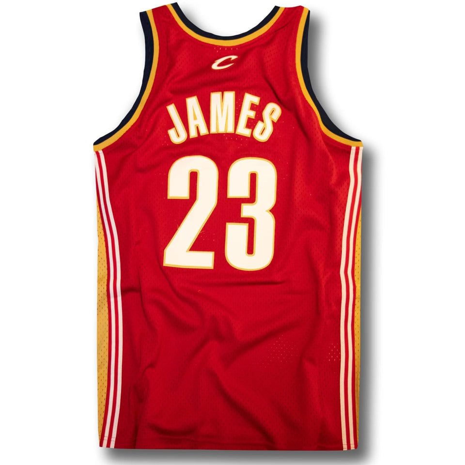 on sale 6290c afb2b LeBron James Cleveland Cavaliers Hardwood Classics Jersey