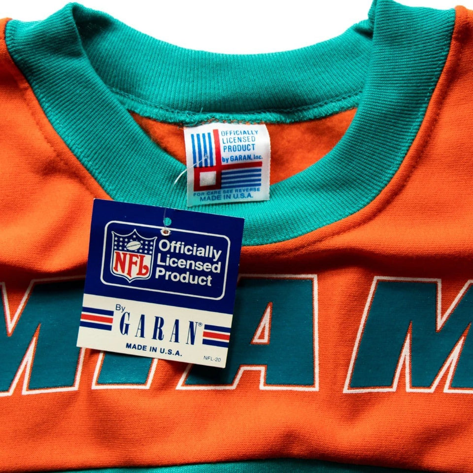 Vintage Miami Dolphins Official NFL Pullover Sweatshirt