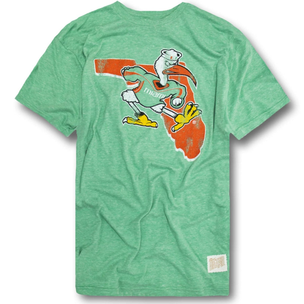 Vintage Miami Hurricanes Original Retro Brand T-Shirt