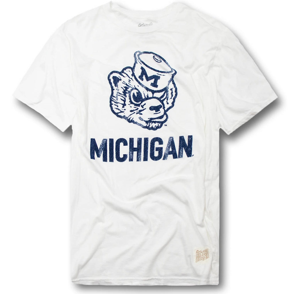 Vintage Original Retro Brand Michigan Wolverines T-Shirt