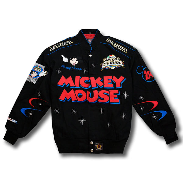 Vintage NASCAR Mickey Mouse Daytona 500 Jacket by JH Designs New