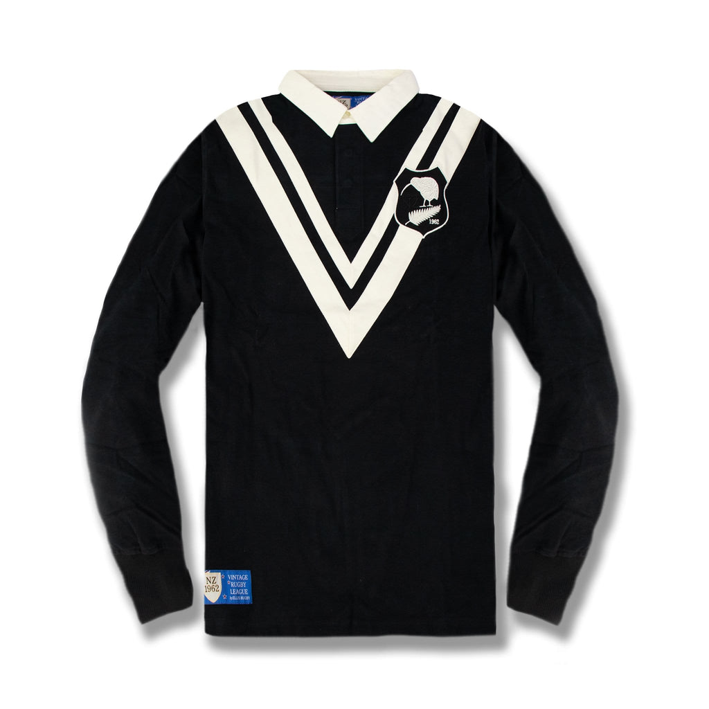 New Zealand Long sleeve Rugby Jersey
