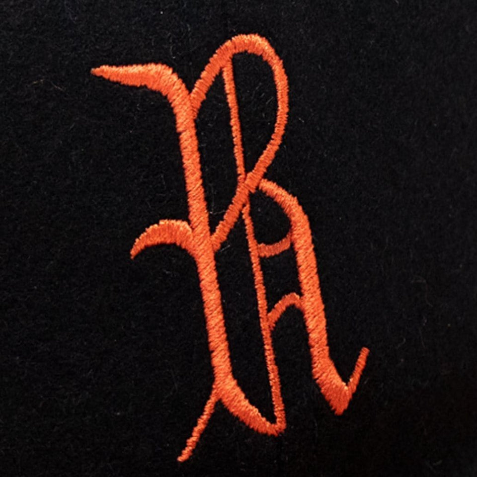 1955 Richmond Virginians Baseball cap logo